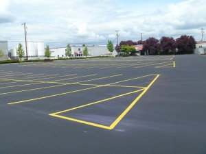 Commerical Property Sealcoating and Striping