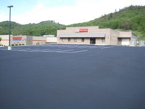 Parking Lot Striping in Roseburg, Oregon