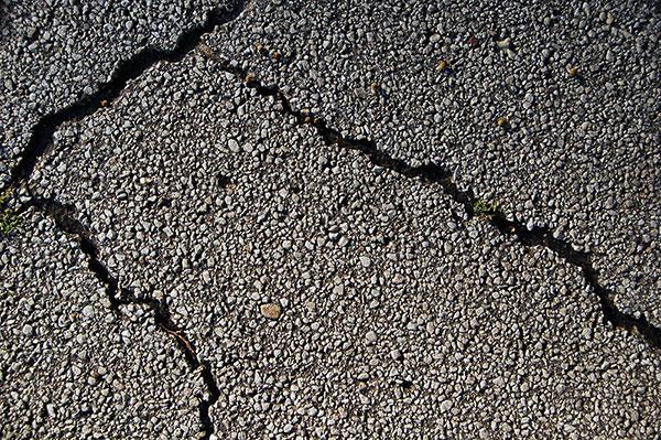 Crack filling and repair, Aegis Asphalt